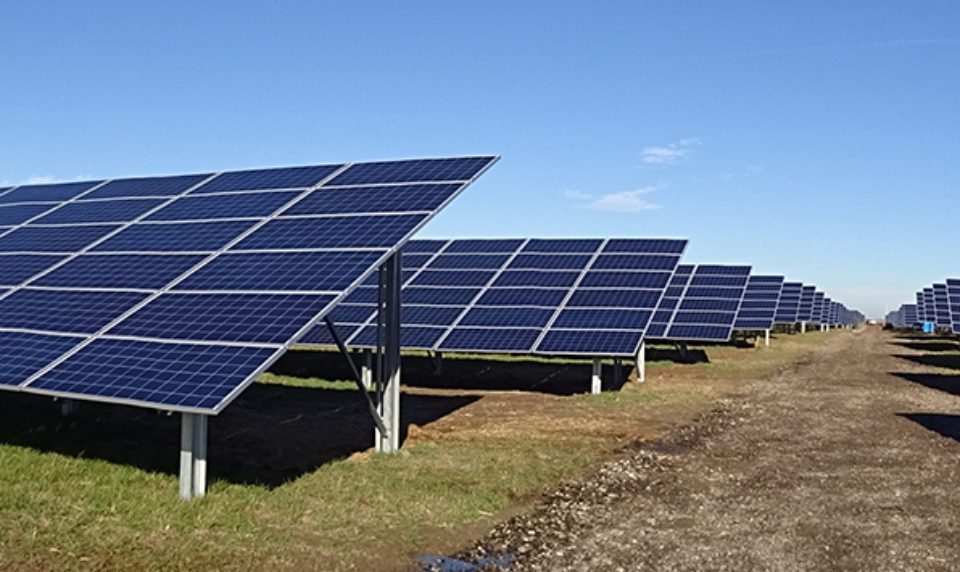 Large-Scale Solar Moves Forward