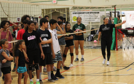 UH Volleyball Comes to Molokai