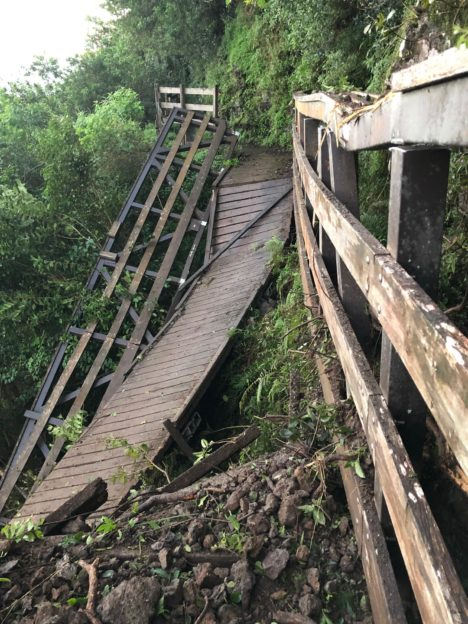 Kalaupapa Trail Closed After Landslide