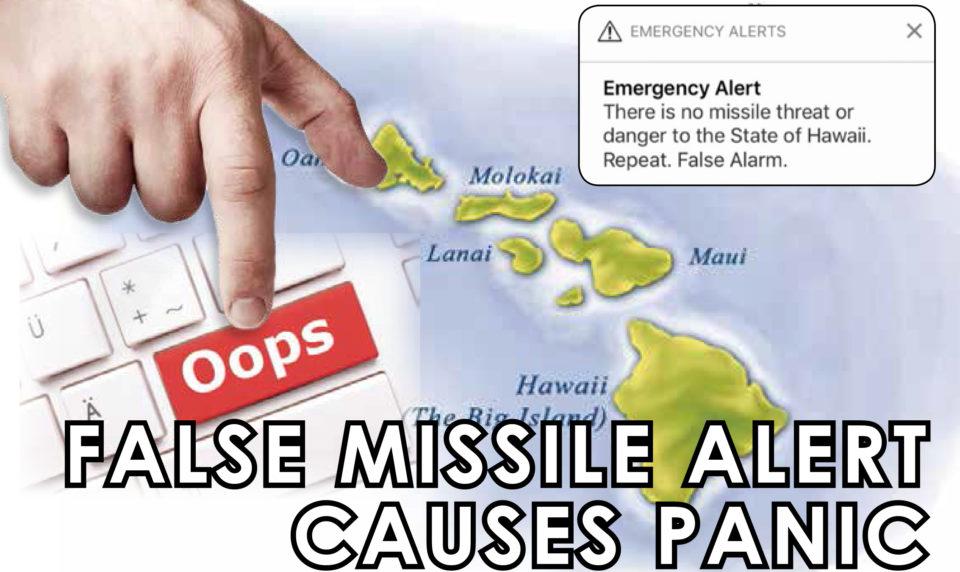 False Missile Alert Causes Panic