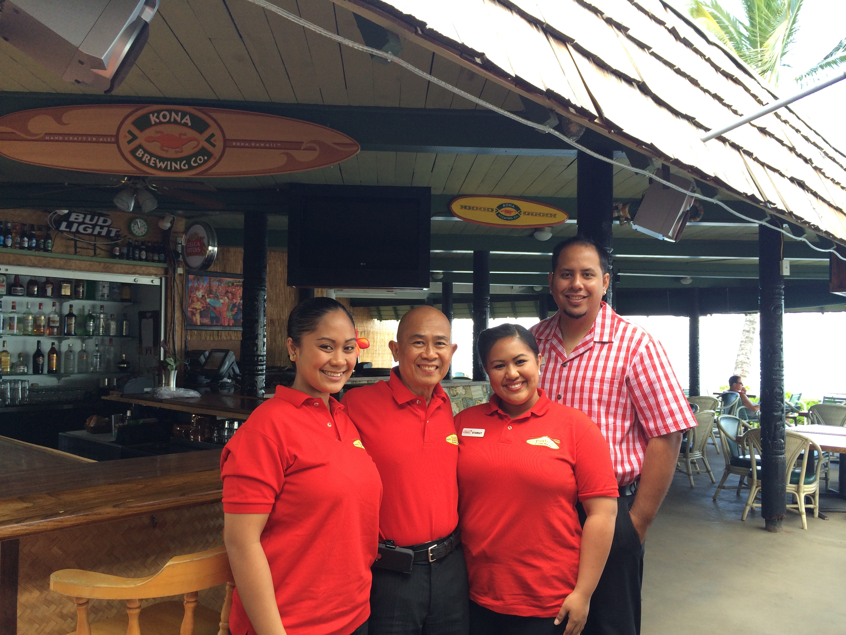 New management for hotel molokai restaurant and bar the for Amnagement bar cuisine