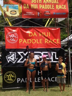 Molokai Youth Takes First in Paddleboard Race